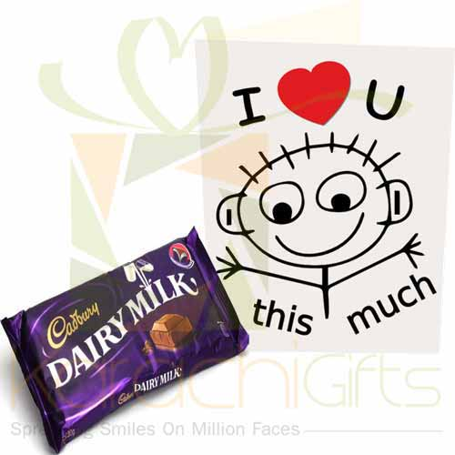 Choc With Love Card