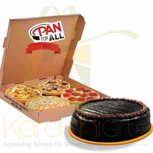 Cake With Pizza Deal