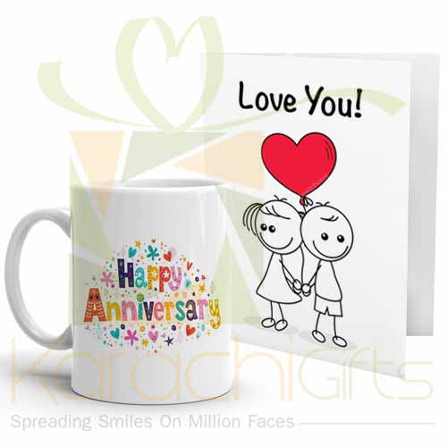 Anni Mug With Love Card
