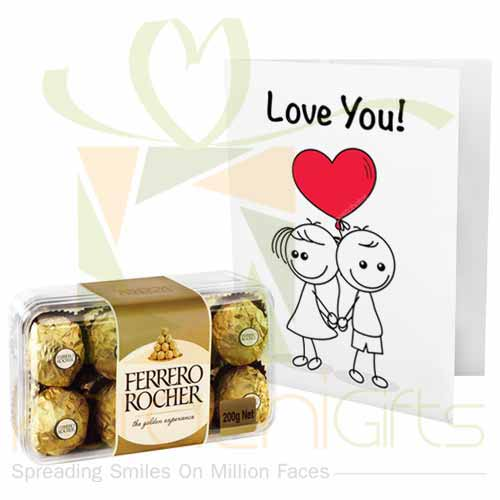 Ferrero With Love Card