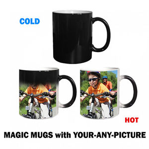Magic Picture Mug with Text