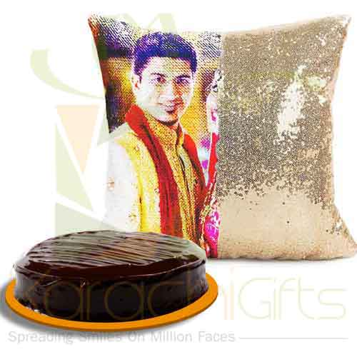 Magic Cushion With Cake