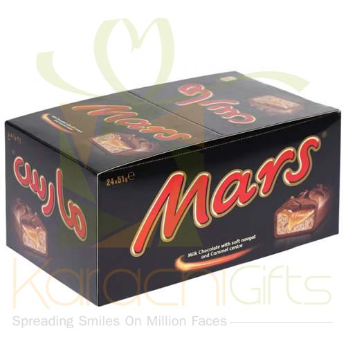 Mars Chocolates 24 Bars (50 Gms Each)