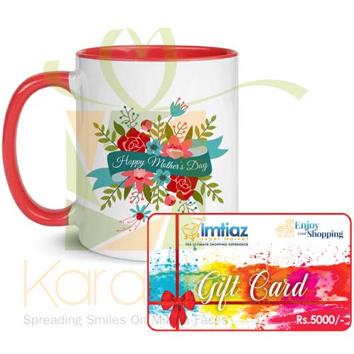 Mothers Day Mug With Gift Card