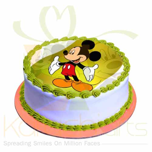 Mickey Mouse Picture Cake - Sachas Bakery