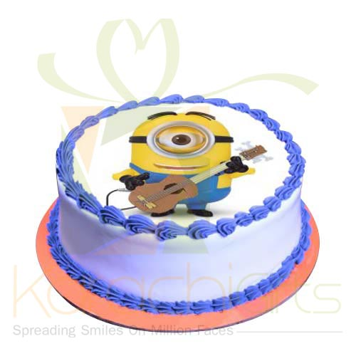 Guitarist Minion Cake 2lbs by Sachas