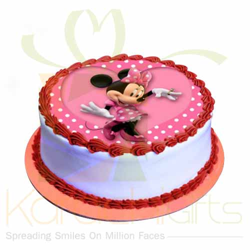 Minnie Mouse Picture Cake - Sachas Bakery