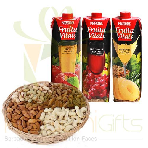 Juices With Dry Fruits