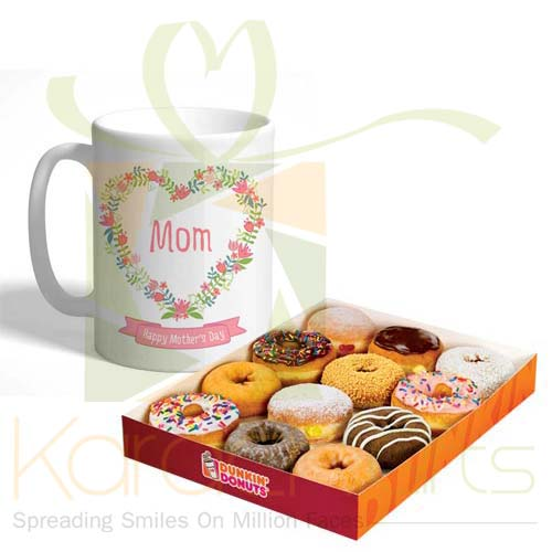 Mom Mug With Donuts