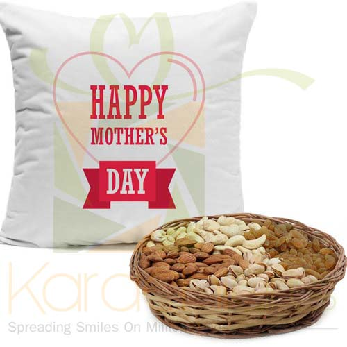 Cushion With Dry Fruits