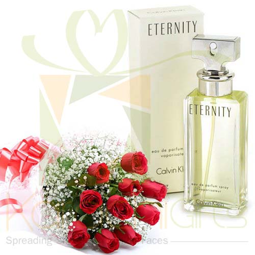 Eternity With Imported Roses