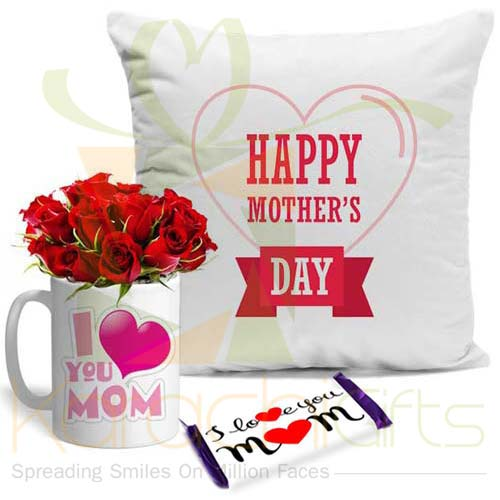 Love Choc Rose Mug Cushion