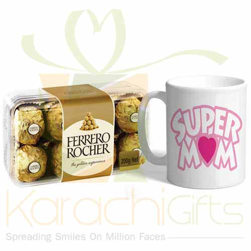 Super Mom Mug With Ferrero