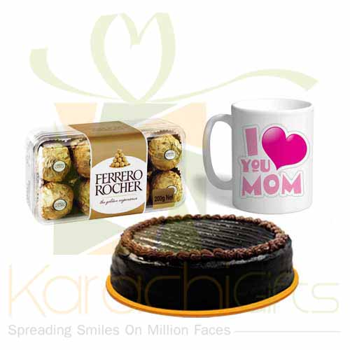 Choc Mug Cake For Mom