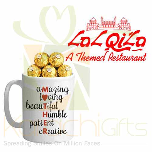 Choc Mug With Dinner Voucher