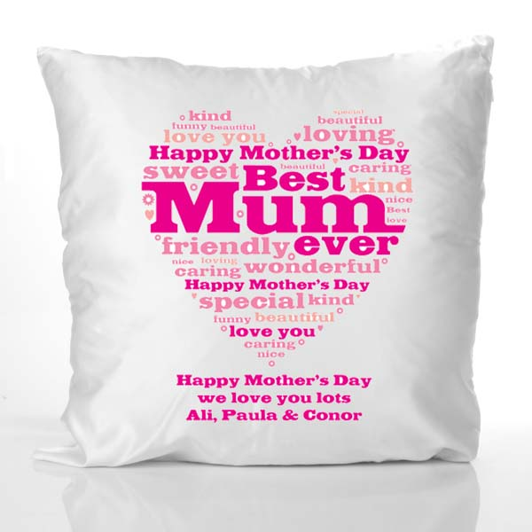 Mother�s Day Cushion with your own Text