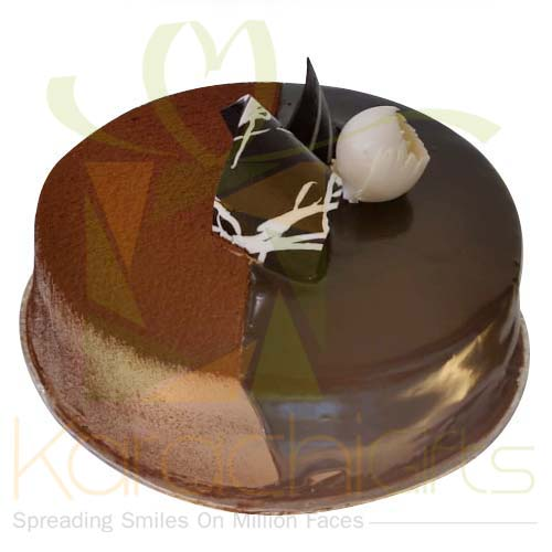 Choc. Swiss Cake 2lbs From Movenpick