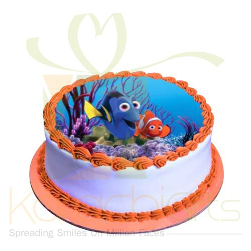 Nemo Picture Cake 2lbs by Sachas