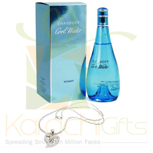 Perfume With Chain Pendant