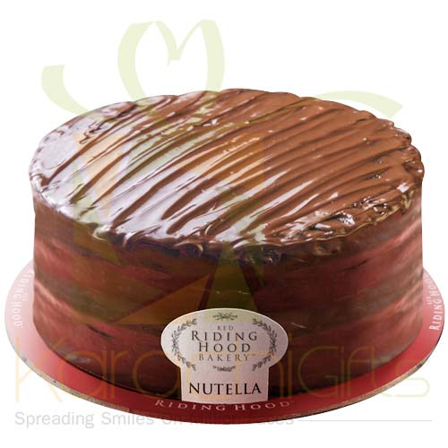 Nutella Cake 2lbs - Red Riding Hood