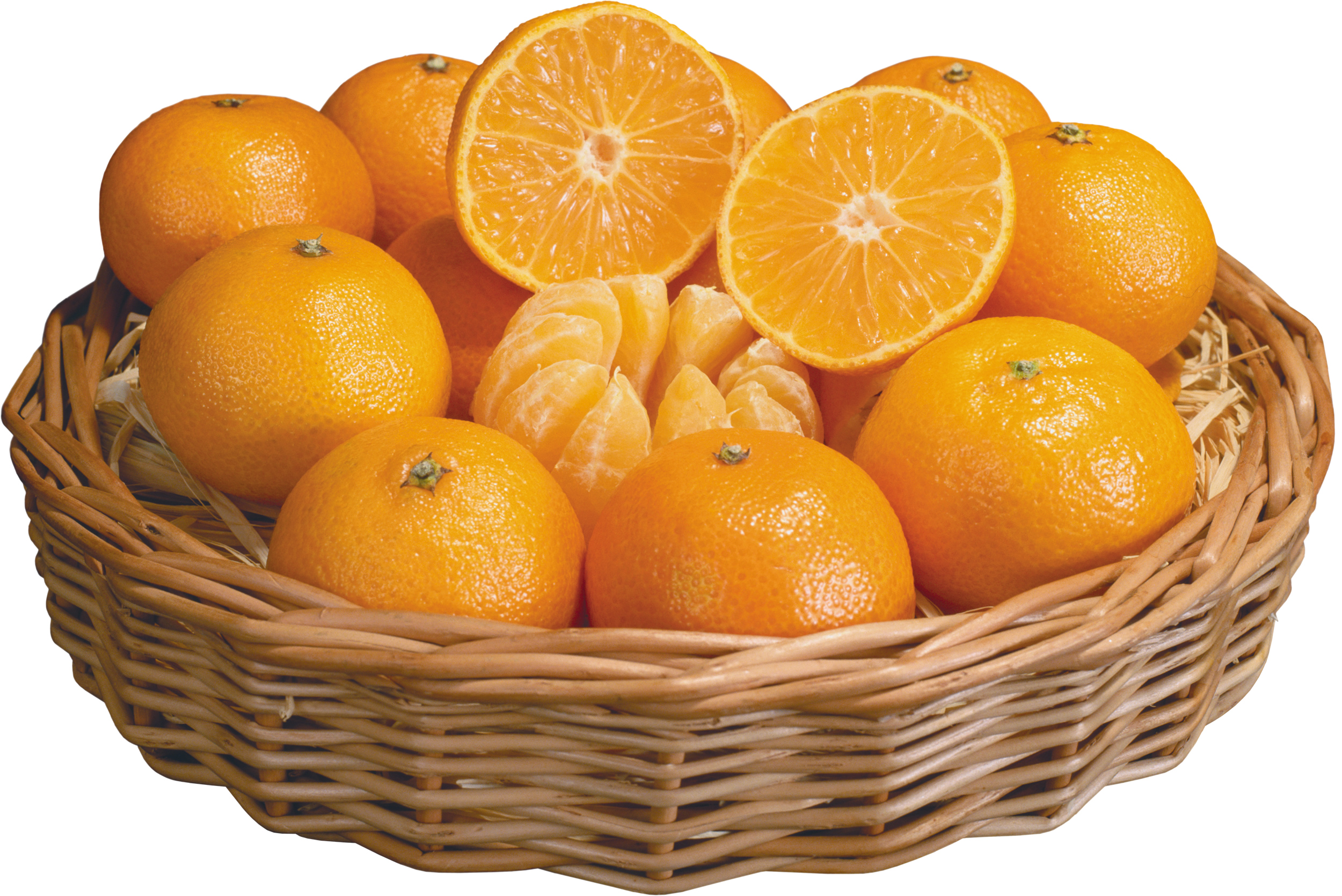 Oranges (3 Dozen) in Basket