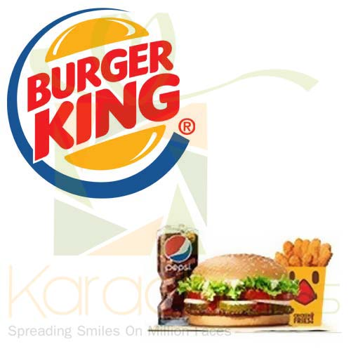 Org Spicy Beef Whopper - Burger King