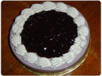 Blueberry Cheese Cake (2.5Lbs) by Sky Bakers