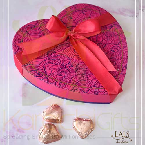 Pink Heart Box By Lals