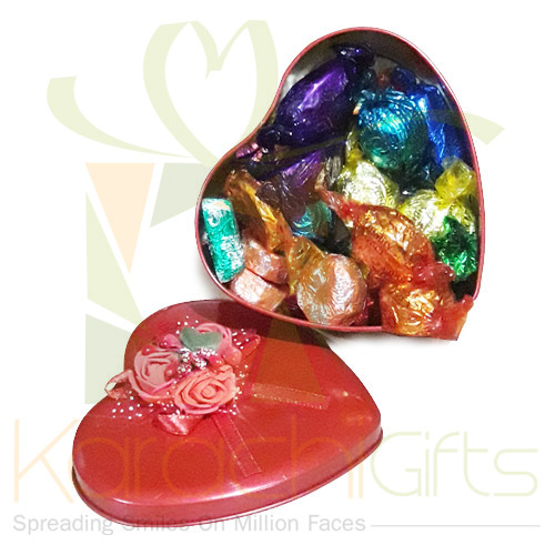 Quality Street Heart (Large)