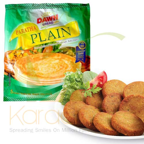 Kabab With Paratha (Frozen)
