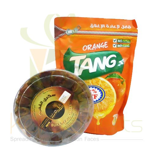 Tang Juice With Dates