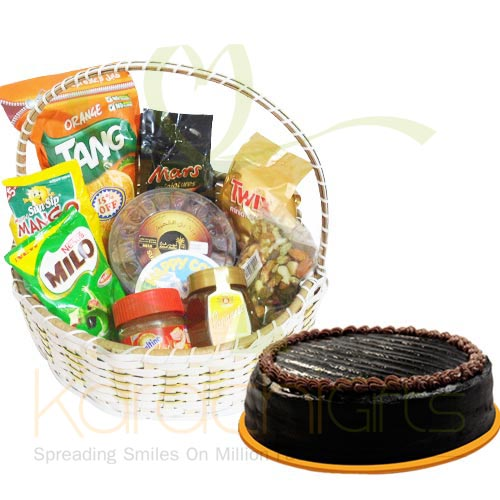 Ramadan Basket With Cake