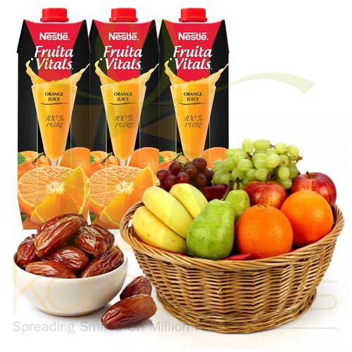 Fruits With Juices n Dates