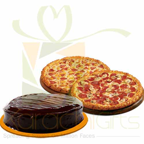 Cake With Pizza
