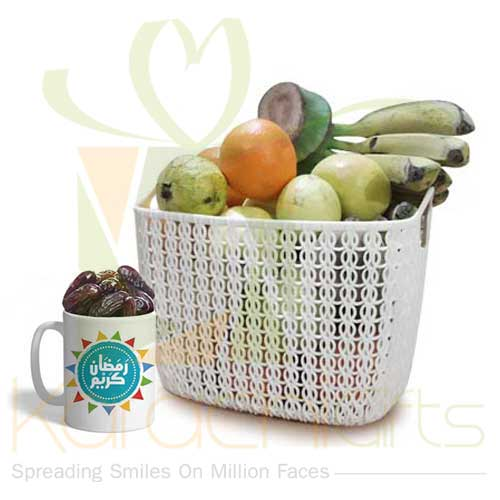 Ramadan Mug With Fruits
