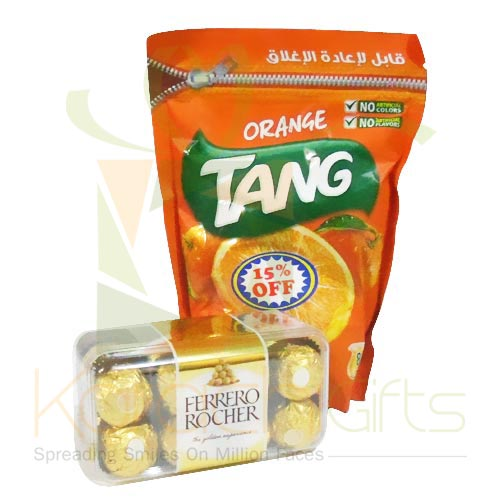 Tang Juice Powder With Chocs