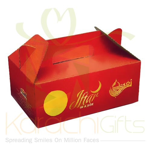 Iftari Box For Sadqa (10 Boxes)
