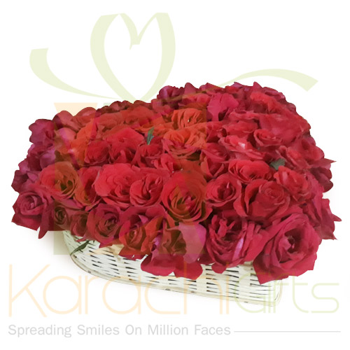 Rose Heart Basket