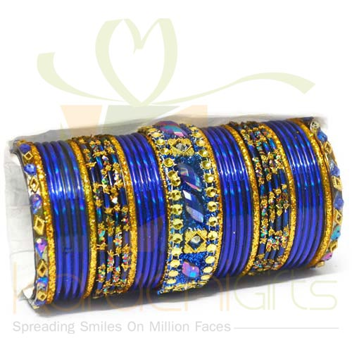Royal Blue Choori Set