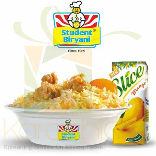 Kids Meal 1 - Student Biryani