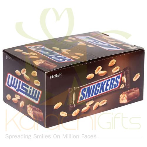 Snickers Chocolates 24 Bars (50gms Each)