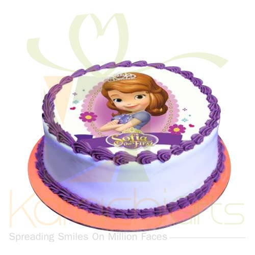Sofia The First Cake 2lbs by Sachas