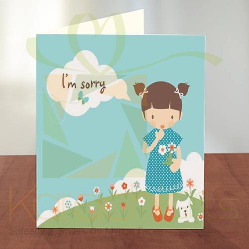Sorry Card 07