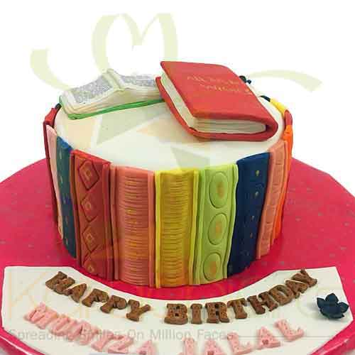 Book Lover Cake - 4.5 lbs
