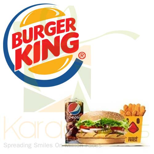 Org Spicy Chicken Whopper - Burger King