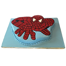 Spiderman Cake 8lbs