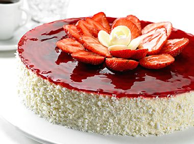 Strawberry Cheese Cake (2lbs) by La Farine