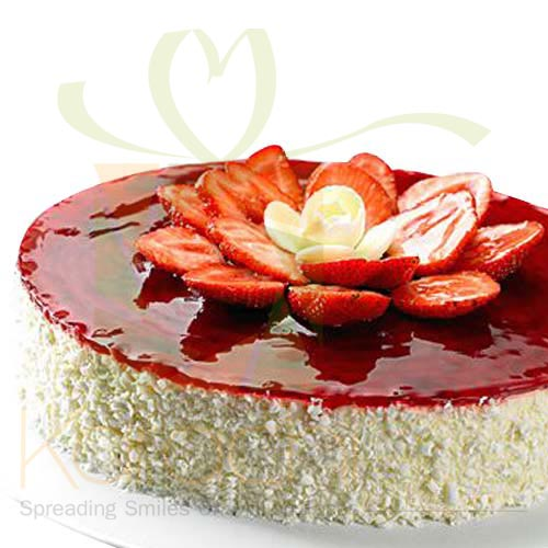 Strawberry Cheese Cake 2lbs By La Farine