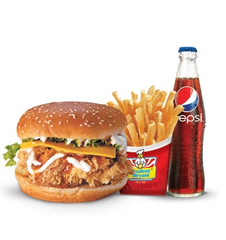 Crispy Chicken Burger Deal