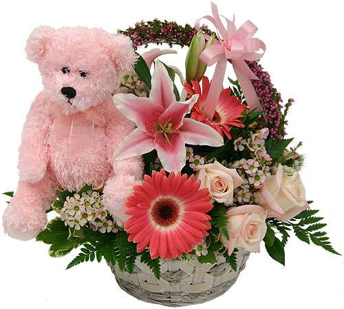 Mothers Day Elegant Basket